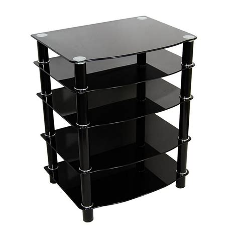 Audio Component Rack by Component Shelf Stereo Cabinet Audio Rack Media Storage