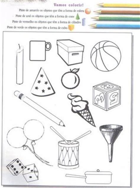 figuras geometricas tridimensionais prof 170 ananda formas geom 233 tricas atividades