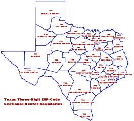 texas map zip codes coordinate systems overview