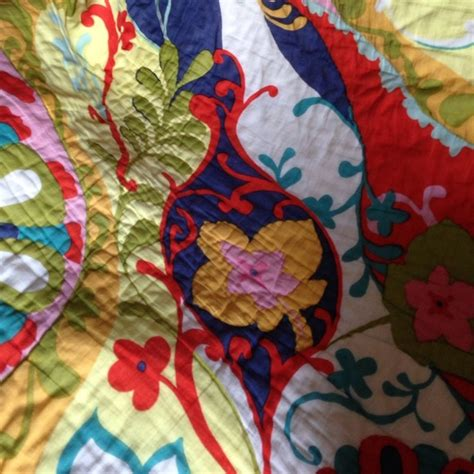 Anthropologie Hothouse Quilt 48 anthropologie other anthropologie hothouse