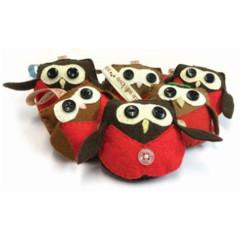 barn owl trust felt owl decorations 2 the barn owl trust