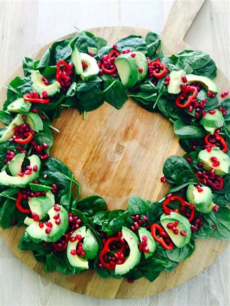 Wreathes festive salad wreathes for christmas lunch rediscover