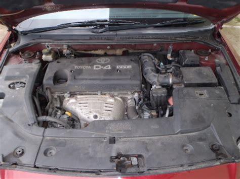 Toyota Avensis Verso Engine Toyota Avensis Verso Acm2 2001 2009 2 0 1998cc 16v
