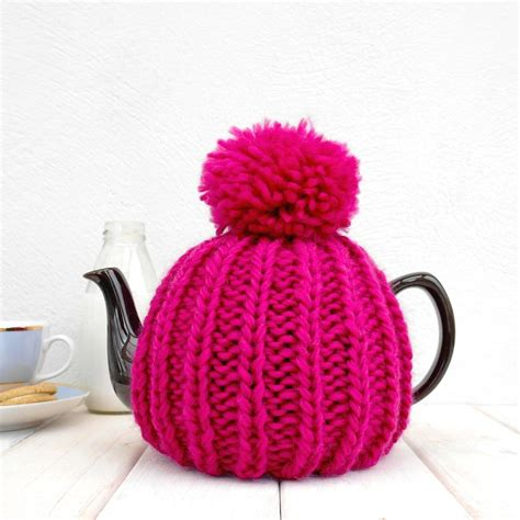 tea cozy knitting pattern six cup retro knit tea cosy by chi chi moi