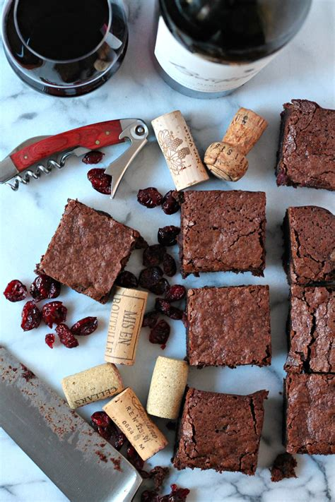wine chocolate books wine brownies recipe dishmaps