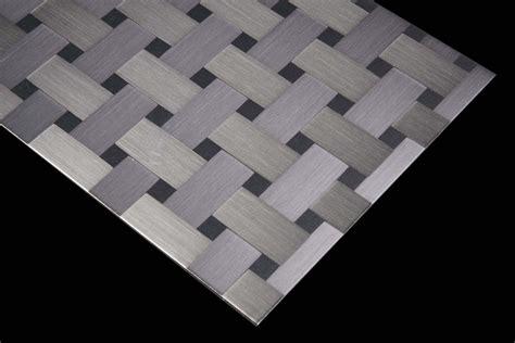 aluminium 120 carbon bodenfliesen inox