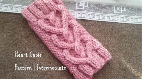 how to knit a cable cable pattern intermediate