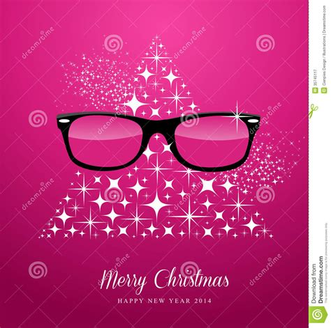 hipster merry christmas  happy  year greetin royalty  stock photography image