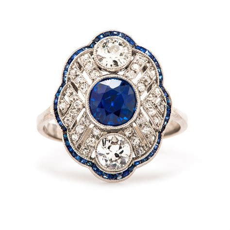 Wedding Rings Sapphire by Unique Sapphire Engagement Ring Www Imgkid The