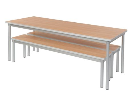 table bench gopak enviro indoor dining bench tables