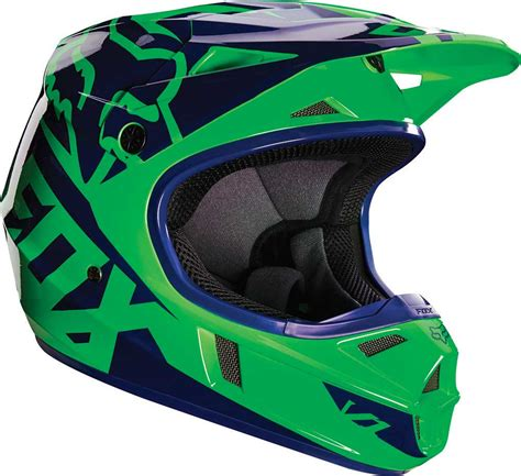 youth motocross racing 2016 fox racing v1 race youth helmet motocross dirtbike