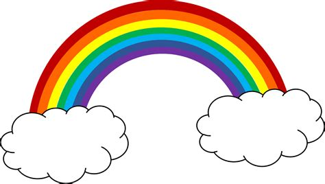 clipart arcobaleno free rainbow clip pictures clipartix
