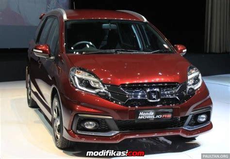 Garnis Depan Honda Mobilio Rs roof garnish kelebihan yang ada di honda mobilio type rs