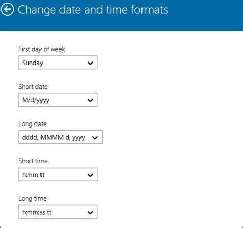 php date format reader windows 10 how to change date and time formats