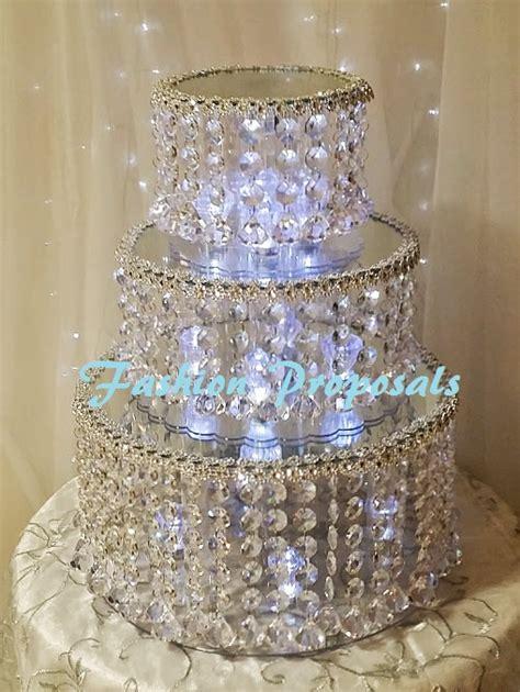cupcake stand with led lights wedding cake stand tier wedding