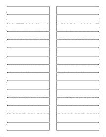 file folder label template word 3 4375 quot x 0 669 quot file labels folder labels standard