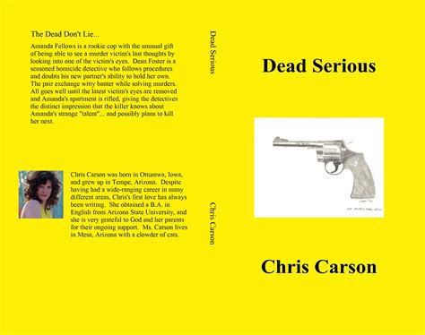 dead serious breaking the cycle of books dead serious by chris carson 7 99 thebookpatch