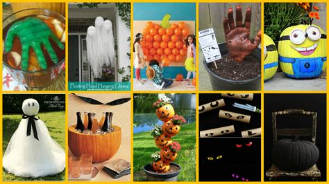 diy halloween home decor 12 creative diy halloween decorations cute and creepy