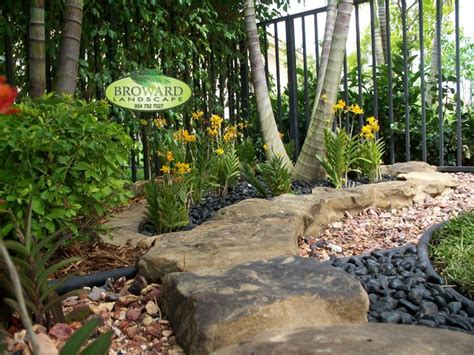 backyard landscaping tropical landscape miami by broward landscape inc