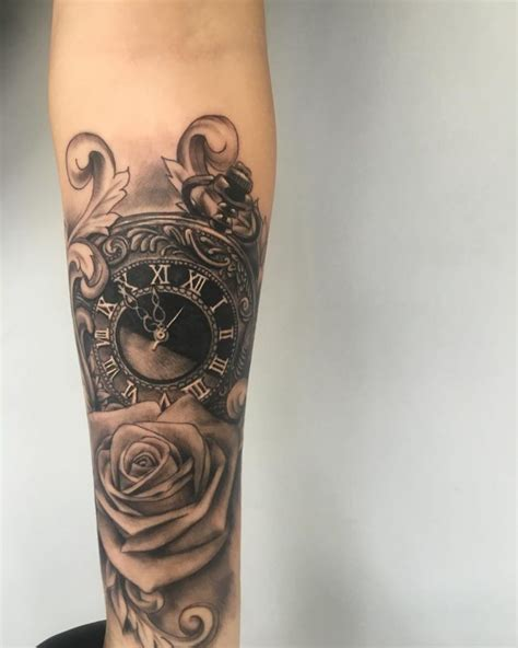 80 timeless pocket watch tattoo ideas a classic and