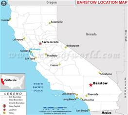where is barstow california