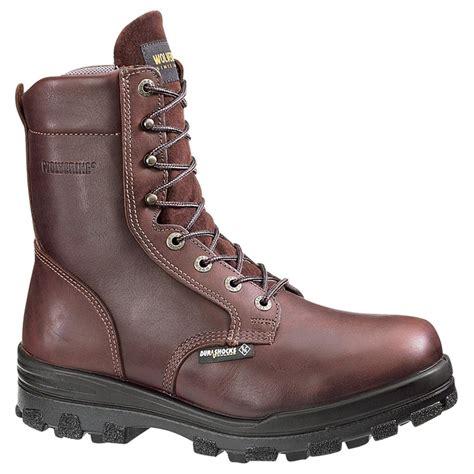 wolverine steel toe boots s wolverine 174 8 quot steel toe electrical hazard durashocks