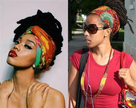 pinterest black woman with headscarf eye catching black women dreadlocks for authentic looks