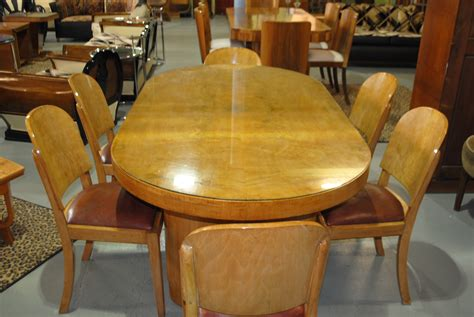art deco dining table   chairs cloud  art deco