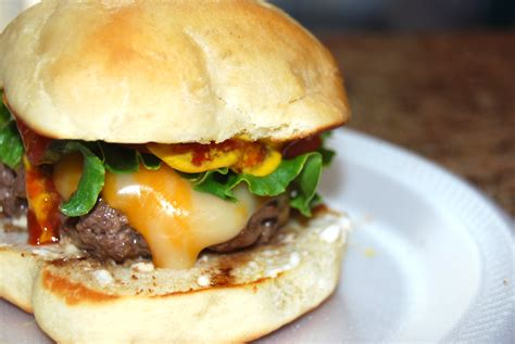 Handmade Burgers Recipe - burger buns recipe dishmaps
