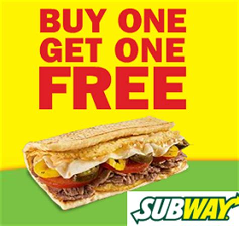 Buy One Get One Free Restaurant Gift Cards - printable subway coupons printable coupons online
