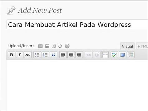 membuat category pada wordpress cara membuat artikel pada wordpress abi sabrina