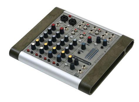Mixer Audio Soundcraft soundcraft compact 4 audio mixer