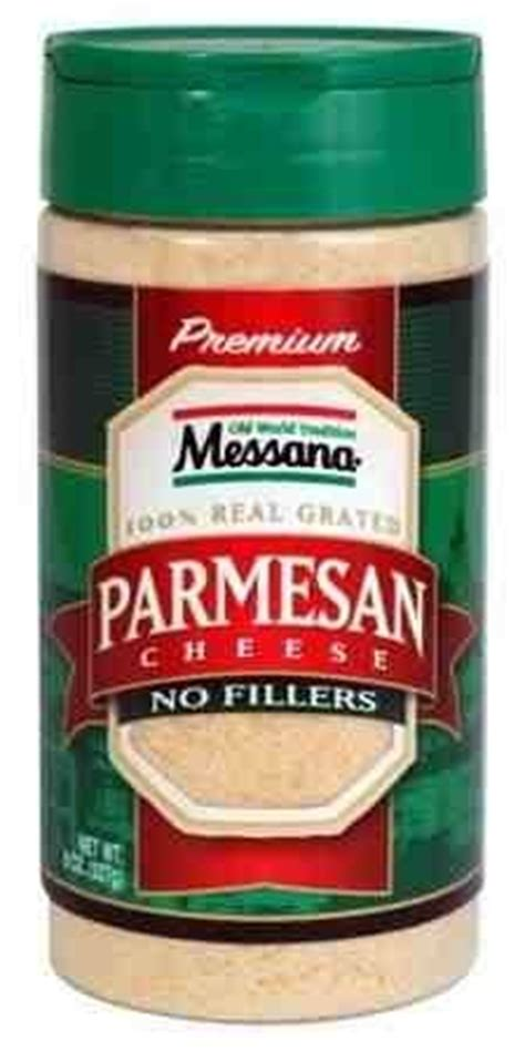 Grated Parmesan Cheese Shelf by Grated Parmesan Cheese