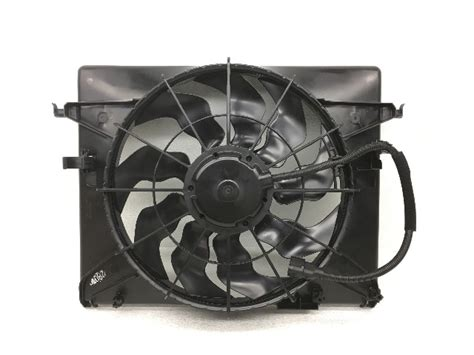 Motor Fan Condenser Hyundai Matrix oem hyundai genesis radiator condenser fan motor 25380