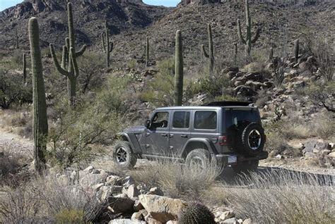 jeep driving away upgrades take nothing away from jeep s off road durability
