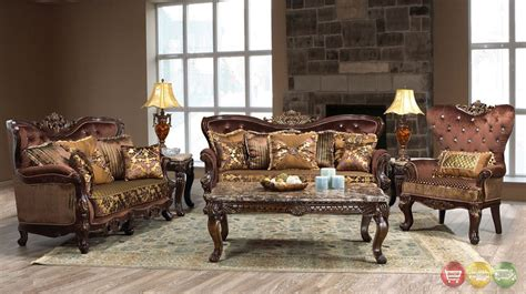 Opulent Furniture opulent traditional luxury formal sofa set
