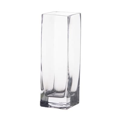 Square Vase by 8 Quot Glass Square Bud Vases Walmart