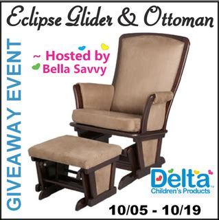 savvy glider and ottoman combo bloggers wanted eclipse glider ottoman combo giveaway