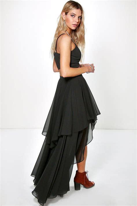 boohoo womens high low hem bohemian maxi skirt ebay