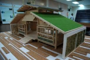 green homes designs bamboo house design miniature green house design
