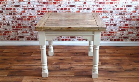 Farmhouse Extendable Dining Table Extending Rustic Folding Dining Table Drop Leaf Space Saving Extendable