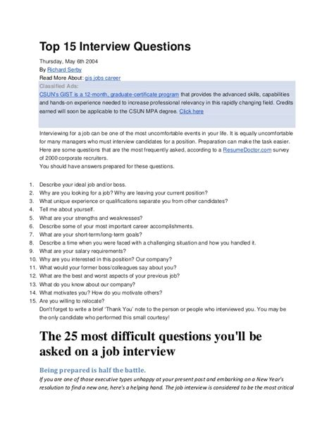 20 ways to best sell your self in an interview and impress your