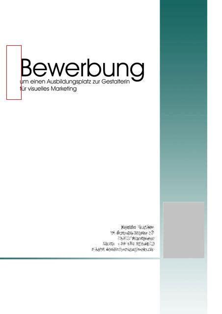 Anschreiben Bewerbung Ausbildung Gestalter F R Visuelles Marketing deckblatt mediengestalter anschreiben 2018