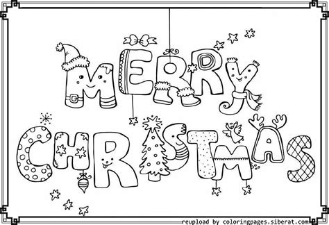 Happy Christmas Coloring Pages Download And Print For Free Free Printable Merry Coloring Pages
