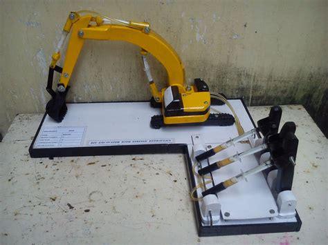 Plan Toys Mini Excavator Pt6316 2 excavator with syringe hydraulics 9 steps