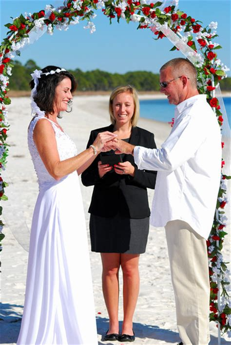 Wedding Officiant Attire by A Beautiful Wedding In Florida Officiant Coordinator