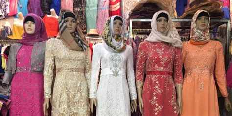 Baju Senam Muslim Mangga Dua Penjualan Busana Muslim Naik Hingga 2 Kali Lipat Jelang