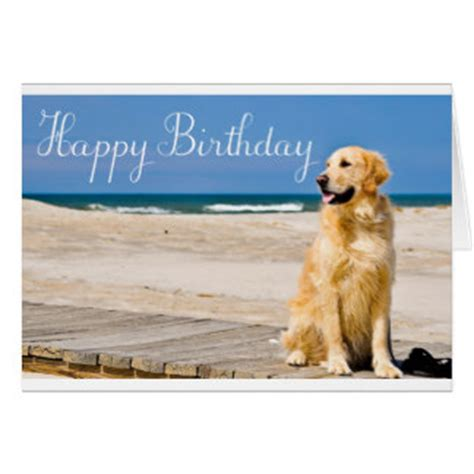 golden retriever birthday cards happy golden retriever puppy gifts on zazzle