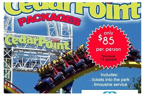 coupons cedar point