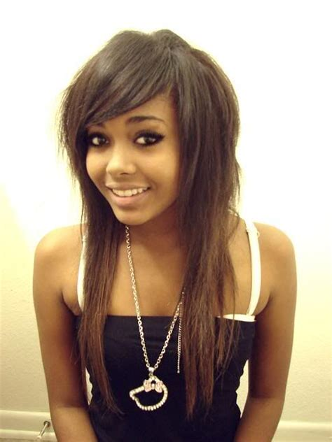 african emo hairstyles african american girls that are scene scene girls and